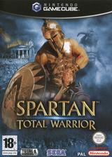 Spartan Total Warrior pochette GameCube (GWAF8P)