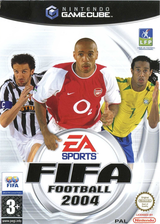 FIFA Football 2004 pochette GameCube (GXFP69)