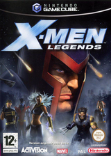 X-Men Legends pochette GameCube (GXLX52)