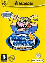 Wario Ware Inc.: Mega Party Game$! pochette GameCube (GZWP01)