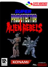 Super Probotector : Alien Rebels pochette VC-SNES (JALP)
