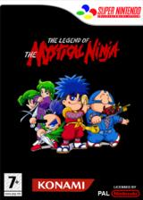 The Legend of the Mystical Ninja pochette VC-SNES (JAZP)