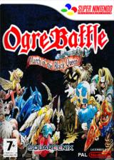 Ogre Battle : The March of the Black Queen pochette VC-SNES (JCTM)