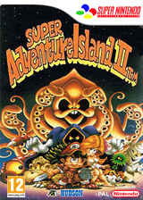 Super Adventure Island II pochette VC-SNES (JD8P)
