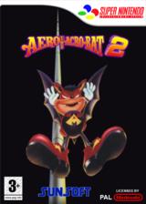 Aero the Acrobat 2 pochette VC-SNES (JDXP)