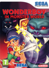 Wonder Boy In Monster World pochette VC-MD (MAVP)