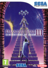 Phantasy Star III: Generations of Doom pochette VC-MD (MCCP)