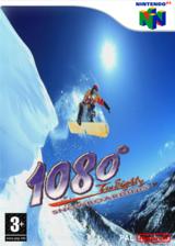 1080:TenEighty Snowboarding pochette VC-N64 (NAOP)