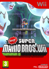 Newer Super Mario Bros. Wii pochette CUSTOM (NWRP01)