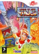 Legend of Hero Tonma pochette VC-PCE (PBMP)