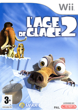 L'Age de Glace 2 pochette Wii (R2AX7D)
