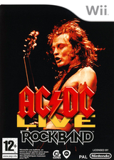 Rock Band:AC/DC Live [Song Pack] pochette Wii (R33P69)