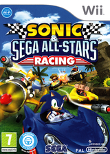 Sonic & SEGA All-Stars Racing pochette Wii (R3RP8P)
