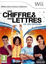 Des Chiffres & des Lettres pochette Wii (R54FMR)