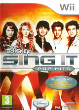 Disney Sing It:Pop Hits pochette Wii (R62P4Q)