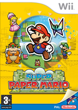 Super Paper Mario pochette Wii (R8PP01)