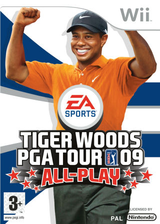 Tiger Woods PGA Tour 09 All-Play pochette Wii (R9TP69)