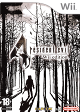 Resident Evil 4:Wii Edition pochette Wii (RB4P08)