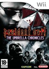 Resident Evil:The Umbrella Chronicles pochette Wii (RBUP08)