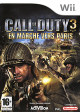 Call of Duty 3:En Marche vers Paris pochette Wii (RCDD52)