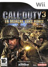 Call of Duty 3:En Marche vers Paris pochette Wii (RCDX52)
