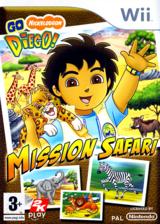 Go Diego! Mission Safari pochette Wii (REQP54)