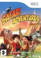 Safari Adventures:Afrique pochette Wii (RFWPNK)