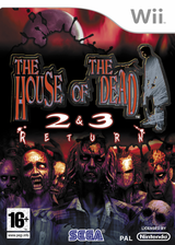 The House of the Dead 2 & 3 Return pochette Wii (RHDP8P)