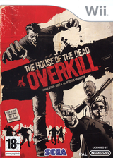 The House of the Dead : Overkill pochette Wii (RHOP8P)