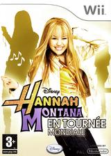 Hannah Montana:En Tournée Mondiale pochette Wii (RHQX4Q)