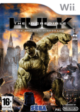 L'Incroyable Hulk pochette Wii (RIHP8P)