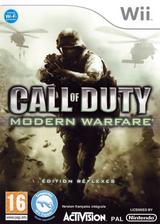 Call of Duty:Modern Warfare -Edition Réflexes pochette Wii (RJAX52)