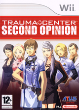 Trauma Center:Second Opinion pochette Wii (RKDP01)