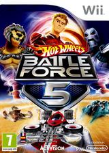 Hot Wheels: Battle Force 5 pochette Wii (RO5P52)