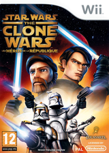 Star Wars The Clone Wars:Les Héros de la République pochette Wii (RQLP64)