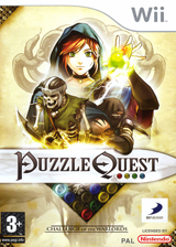 Puzzle Quest:Challenge of the Warlords pochette Wii (RQWPG9)