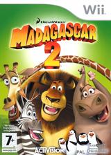 Madagascar 2 pochette Wii (RRGP52)