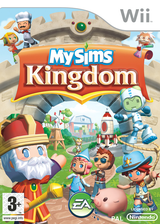 MySims Kingdom pochette Wii (RSHP69)