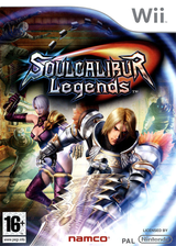 Soulcalibur Legends pochette Wii (RSLPAF)