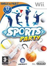Sports Party pochette Wii (RSUP41)