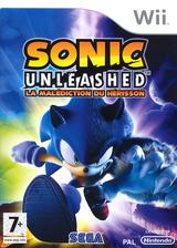 Sonic Unleashed:La Malédiction du Hérisson pochette Wii (RSVP8P)