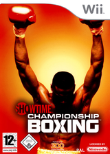 Showtime Championship Boxing pochette Wii (RSYP7J)