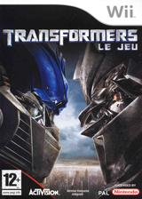 Transformers:Le jeu pochette Wii (RTFP52)
