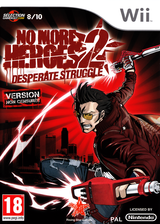 No More Heroes 2 : Desperate Struggle pochette Wii (RUYP99)