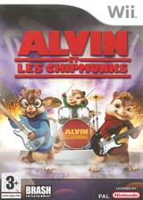 Alvin et les Chipmunks pochette Wii (RVBPRS)