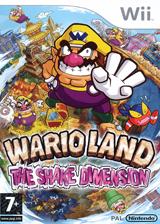 Wario Land:The Shake Dimension pochette Wii (RWLP01)
