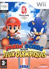 Mario & Sonic aux Jeux Olympiques pochette Wii (RWSP8P)