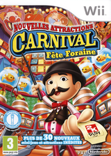 Carnival Fête Foraine: Nouvelles Attractions pochette Wii (S2CP54)
