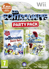 Les schtroumpfs Party Pack pochette Wii (S7SP41)