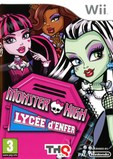 Monster High: Lycée d'Enfer pochette Wii (SAOP78)